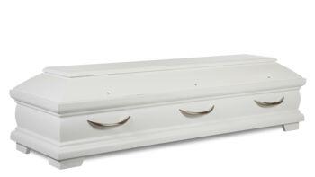 Magusa 146 335 08-1 Tanne RP 335 weiß seidenmatt - Griff 3100 edelstahl
