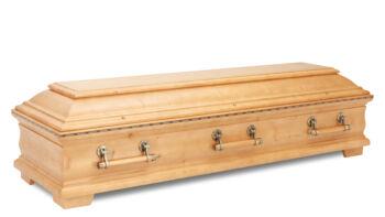 Magusa 146 375 03-1 Tanne RP 375 Intarsienband honig seidenmatt - Holzstangengriffe