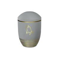 Magusa FWAVE FG Wave flanell gold mit Dekor ''Betende Hände'' in gold