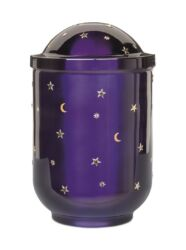 Magusa H1320 SMS Stahl, Kobalt-Blau, Sonne, Mond und Sterne